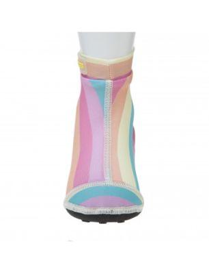 Calcetines para Agua Rosado Líneas