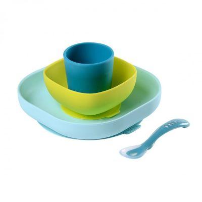 Set de platos de silicona
