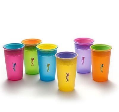 Vaso antiderrame Wow Cup Translucido