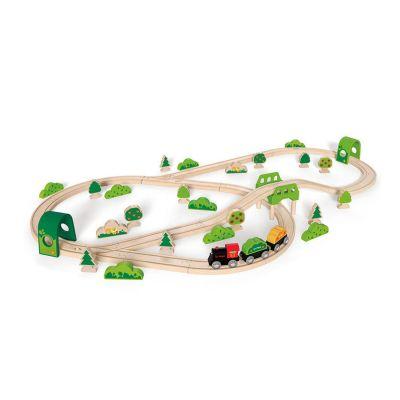 Pista de tren Forest