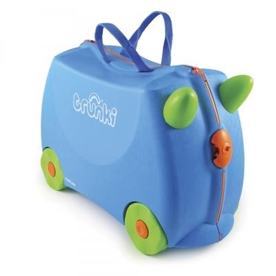 Maleta con ruedas Trunki Azul