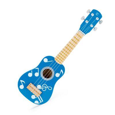 Guitarra Infantil de madera Azul