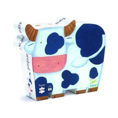 Puzzle La vaca en el campo 24 pcs