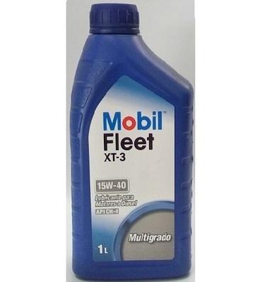 MOBIL FLEET XT-3 15W-40, 1LT