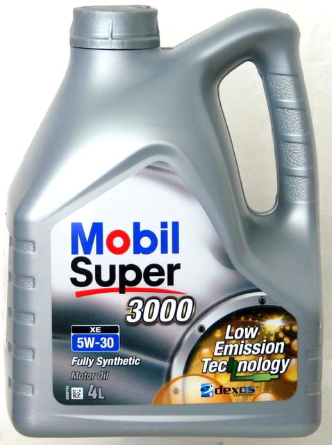 MOBIL SUPER 3000 XE 5W30, 4LT