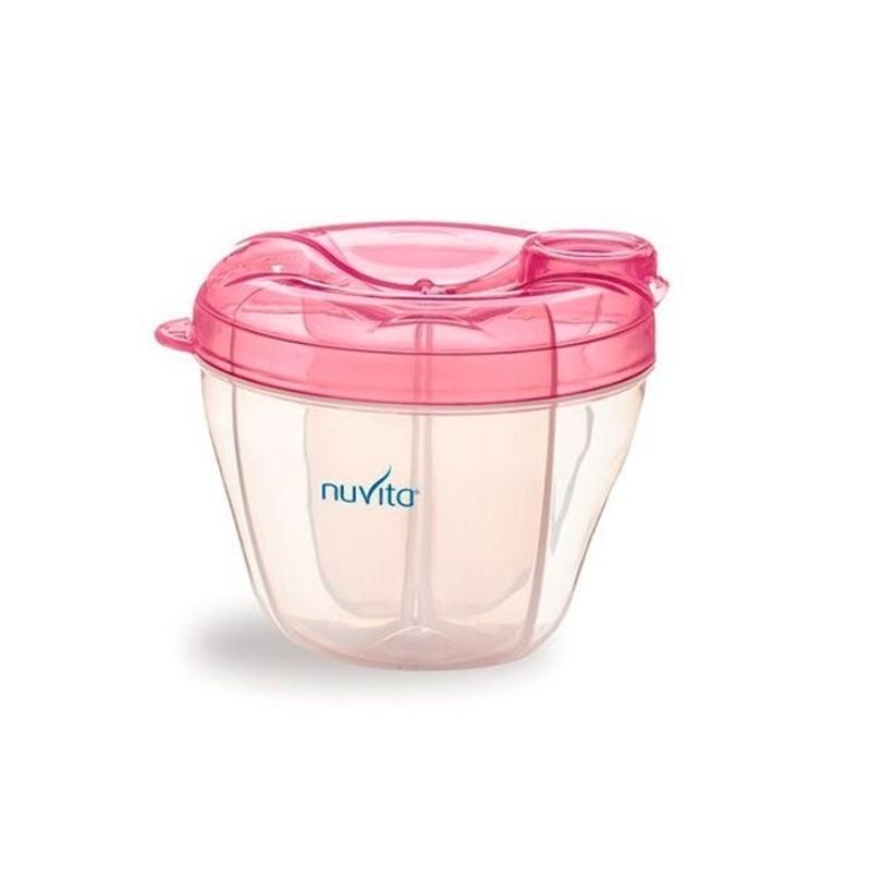 Contenedor con dispensador leche en polvo Pink