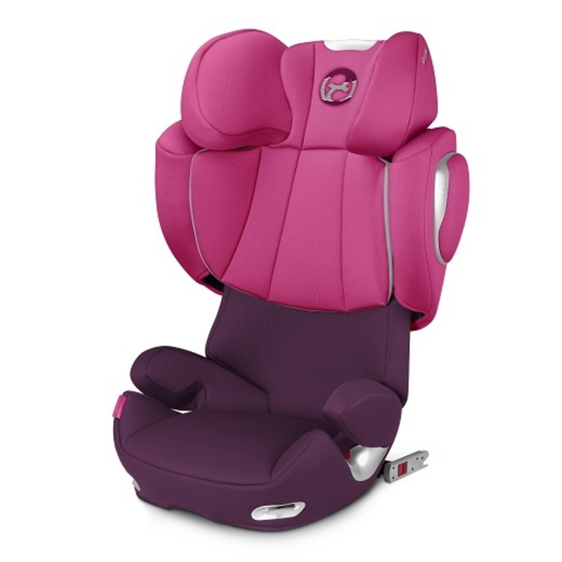 Silla de Auto Butaca Solution Q3-Fix Mystic Pink Purple