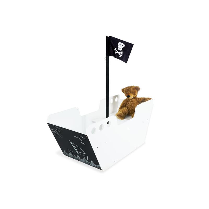 Barco pirata con mesa Hoppetosse