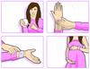 2 Pulseras anti-mareo para embarazadas
