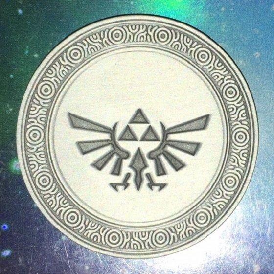 Zelda Breath of The Wild - Monedas Coleccionables