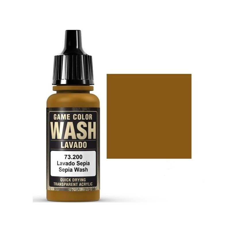 Game Color Wash: Sepia Shade - Lavado Sepia 73.200