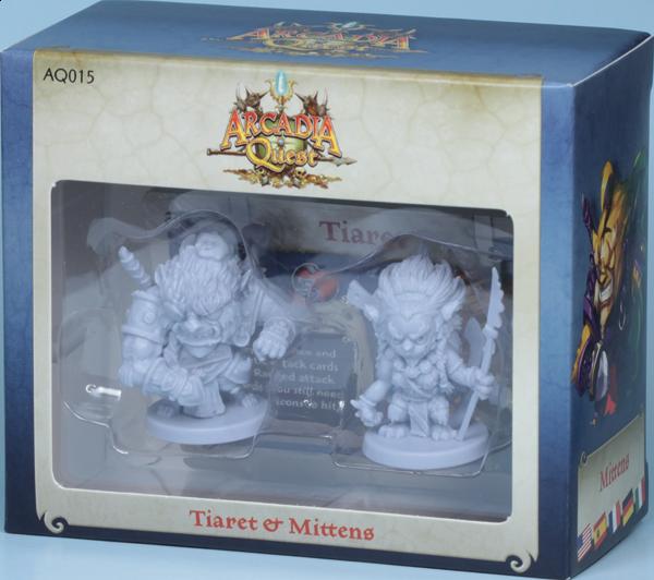 Arcadia Quest: Tiaret y Mittens