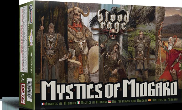 Blood Rage - Místicos de Midgard