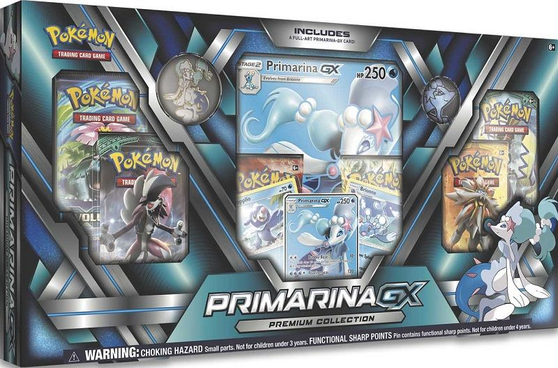 Primarina GX Premium Collection