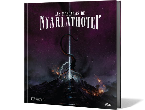 La Llamada Cthulhu: Las Máscaras de Nyarlathotep - Juego de Rol
