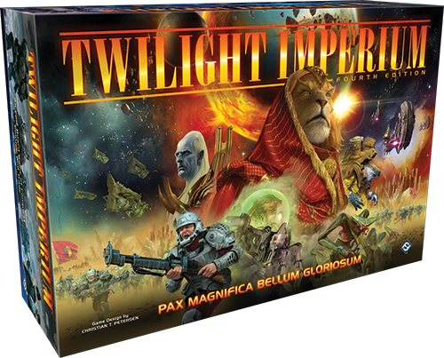 Twilight Imperium 4rd. Edition - Board Game