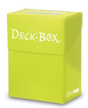 Caja Porta Mazo Amarillo Brillante