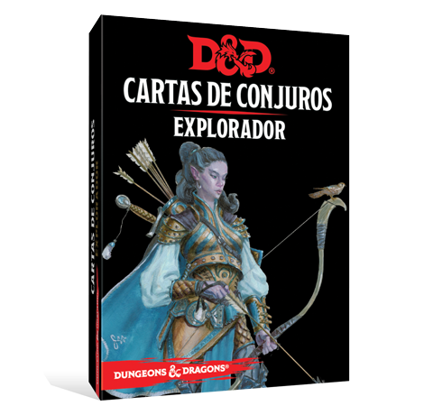 D&D 5th Ed. Cartas de Conjuros Explorador