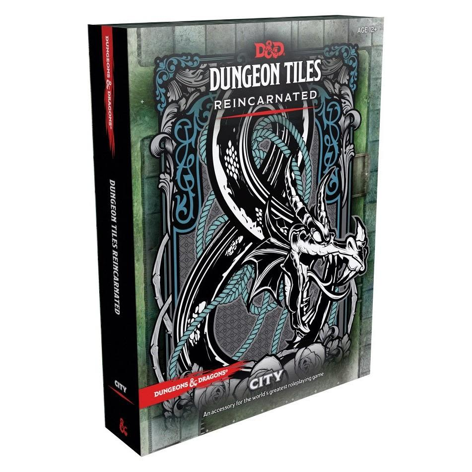 D&D 5th Ed. Dungeon Tiles Reincarnated - City