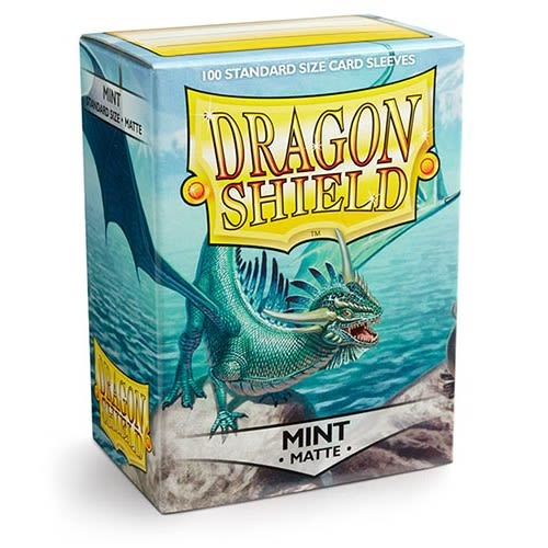 Protectores Dragon Shield Matte Standard Mint - 100 Unidades