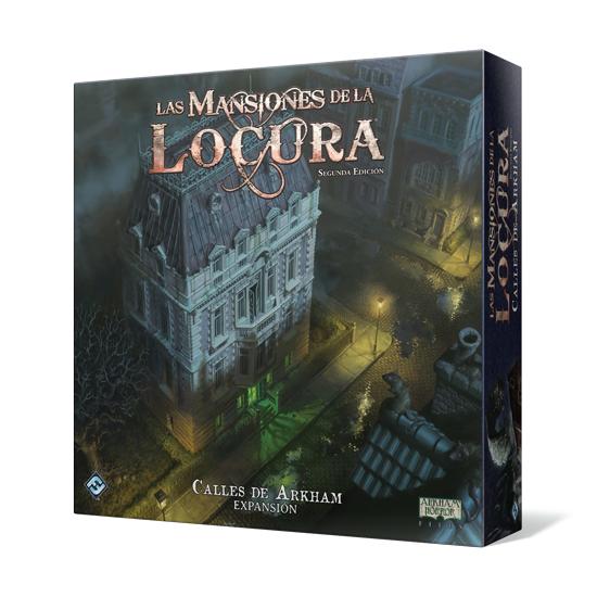 Las Mansiones de la Locura 2ª Edición - Calles de Arkham Expansión