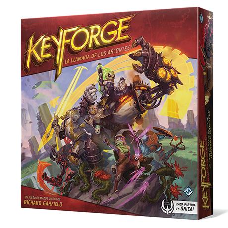 Keyforge: La Llamada de los Arcontes - Caja de Inicio