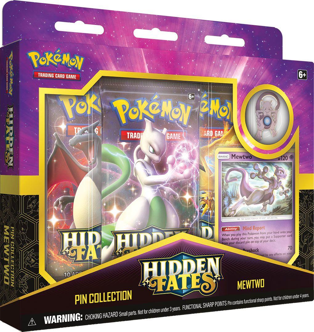 Hidden Fates Pin Collection