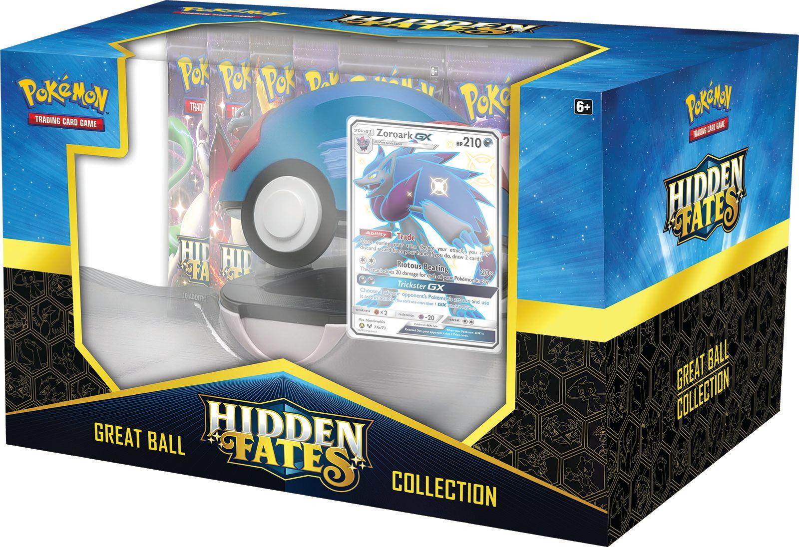 Hidden Fates - Poké Ball Collection