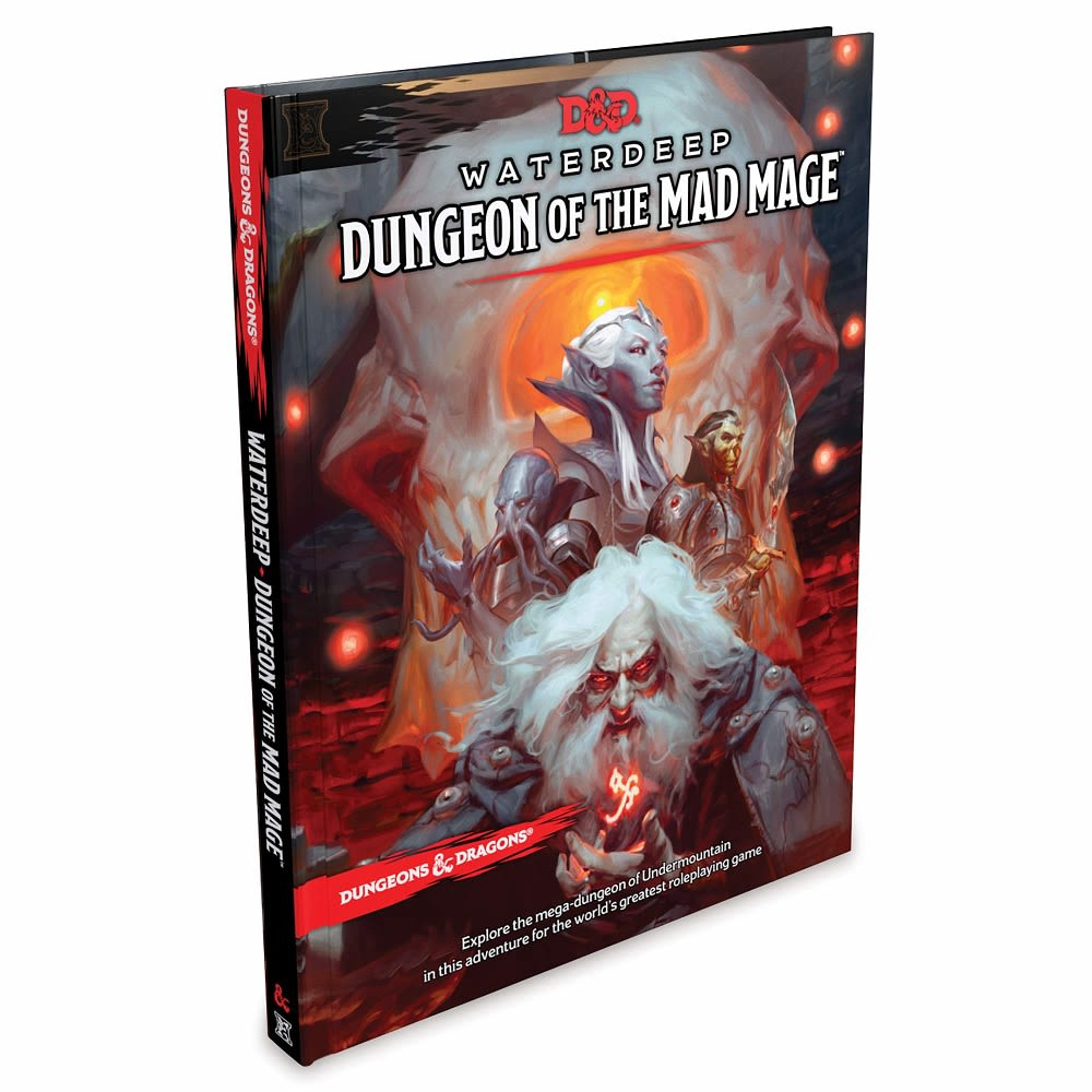 D&D 5th Ed. Waterdeep: Dungeon of the Mad Mage