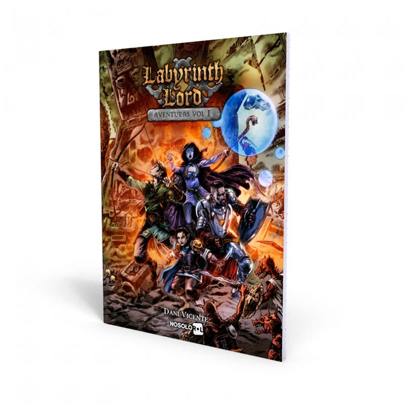 Labyrinth Lord - Aventuras Vol. 1