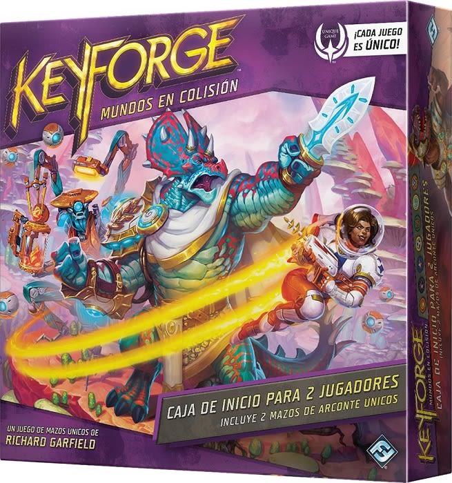 KeyForge: Mundos en Colisión Caja de Inicio
