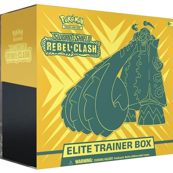 Sword & Shield Rebel Clash - Elite Trainer Box