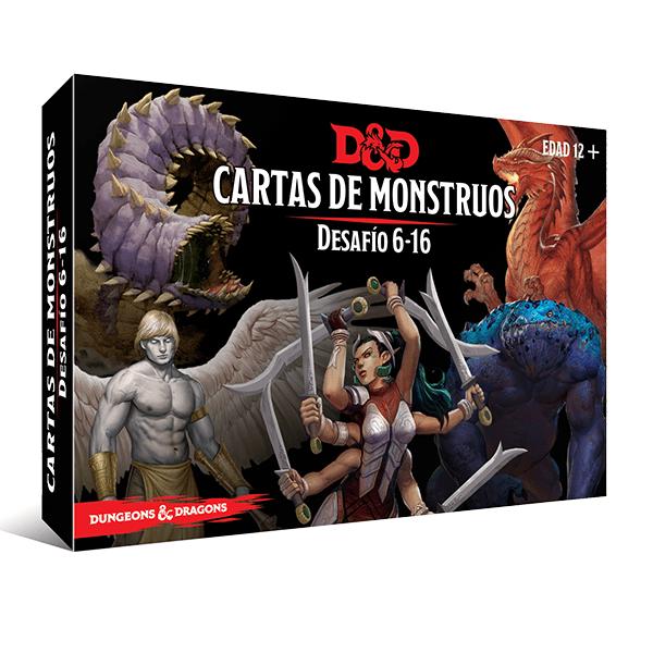 D&D 5th Ed. Cartas de Monstruos - Desafío 6-16