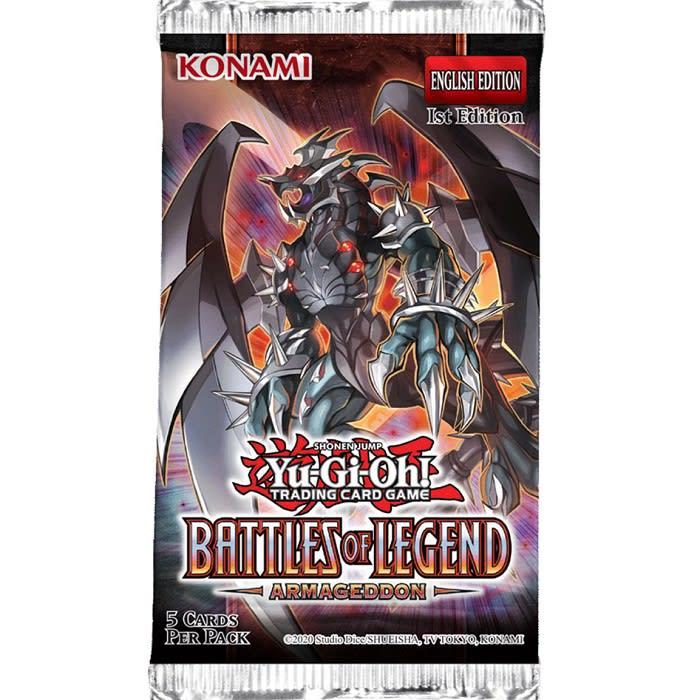 Battles of Legend Armageddon - Booster