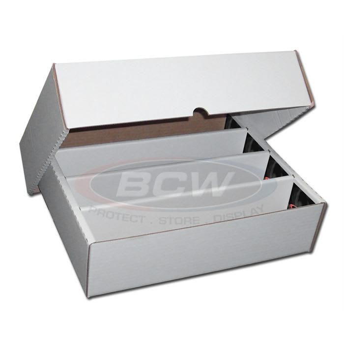 BCW Cajas de cartón para almacenar cartas - Grande