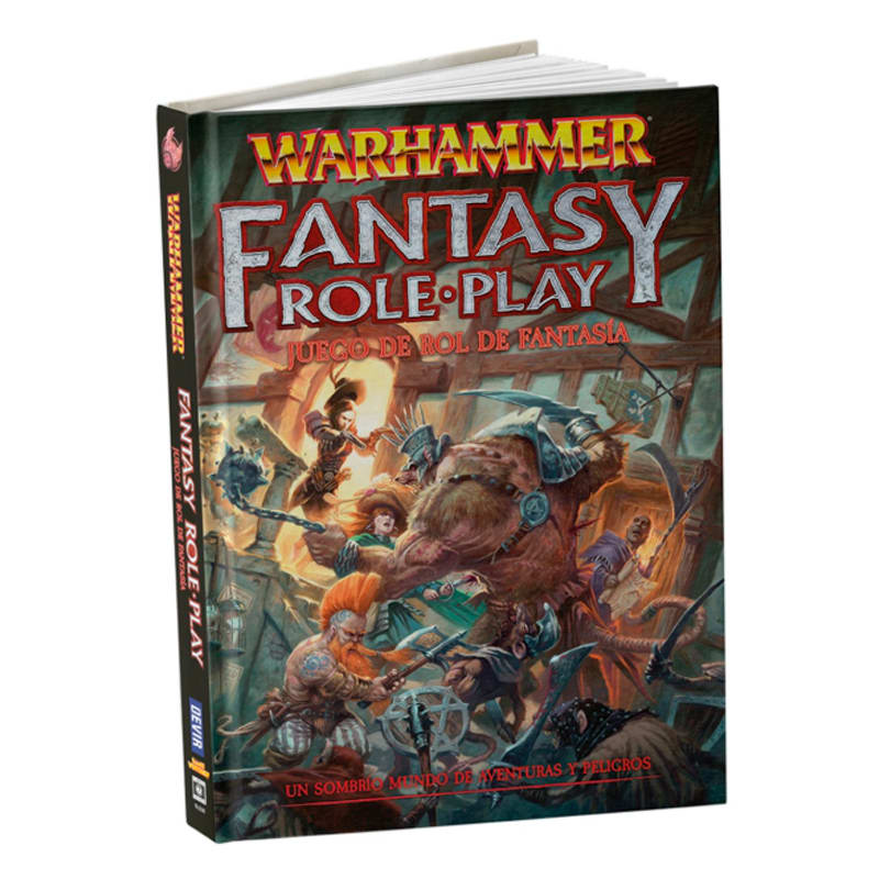 Warhammer Juego de Rol de Fantasía