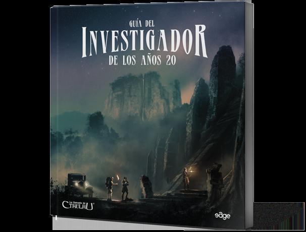 La Llamada Cthulhu: Guía del Investigador Años 20 - Juego de Rol