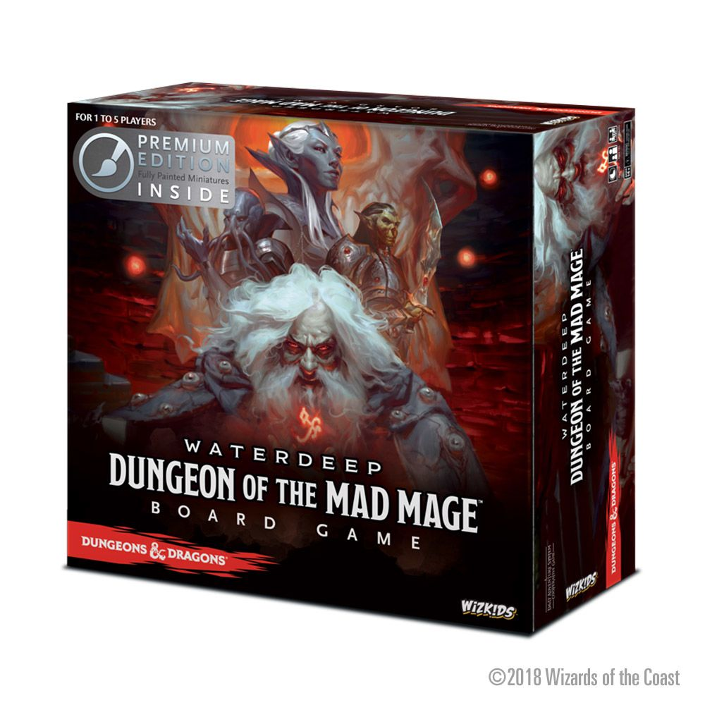 D&D Waterdeep: Dungeon of the Mad Mage - Board Game Premium Edition