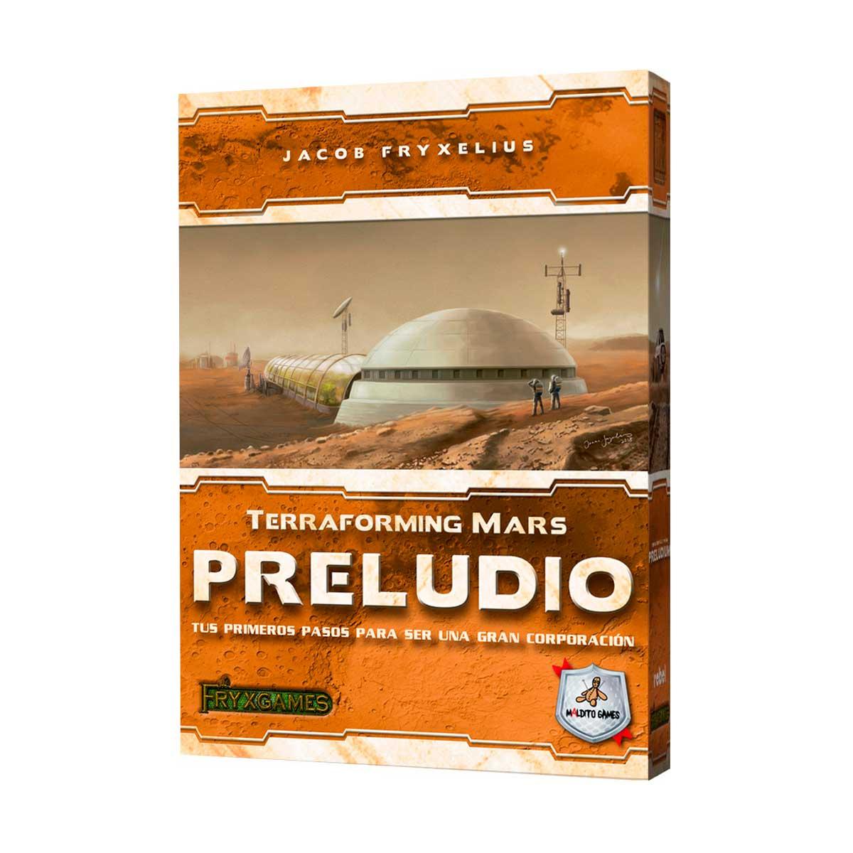 Terraforming Mars - Preludio (Español)