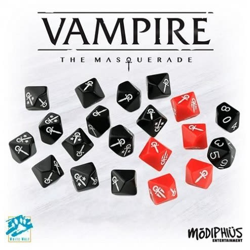 Set Dados Vampiro 5ª Edición