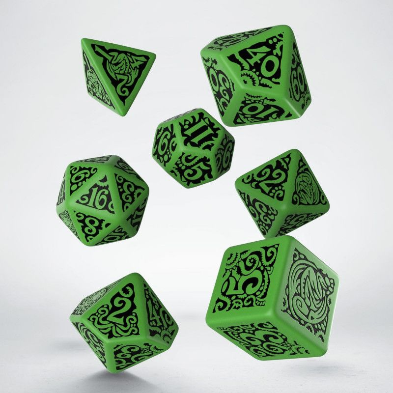Set D7 Dados COC The Outer Gods - Cthulhu