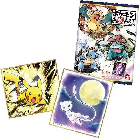 Pokémon Shikishi Art