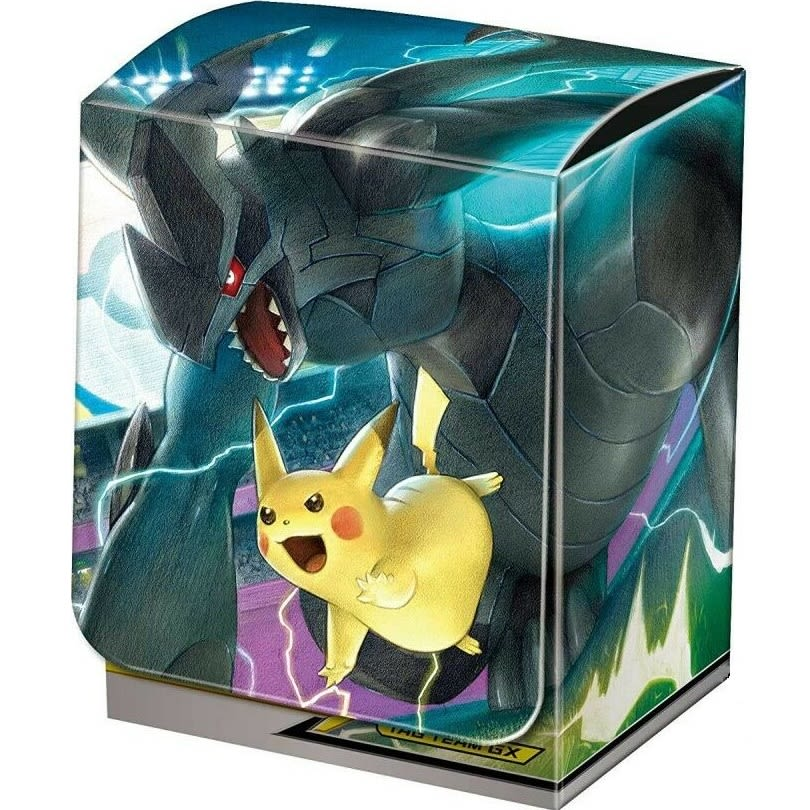 Caja Porta Mazo Pokémon - Tag Team GX Pikachu & Zekrom