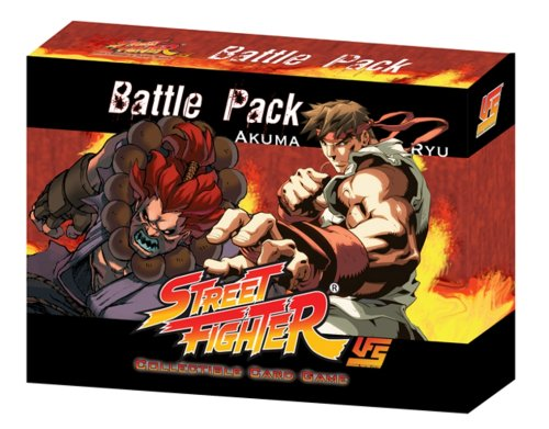 Street Fighter Akuma vs Ryu Battle Pack