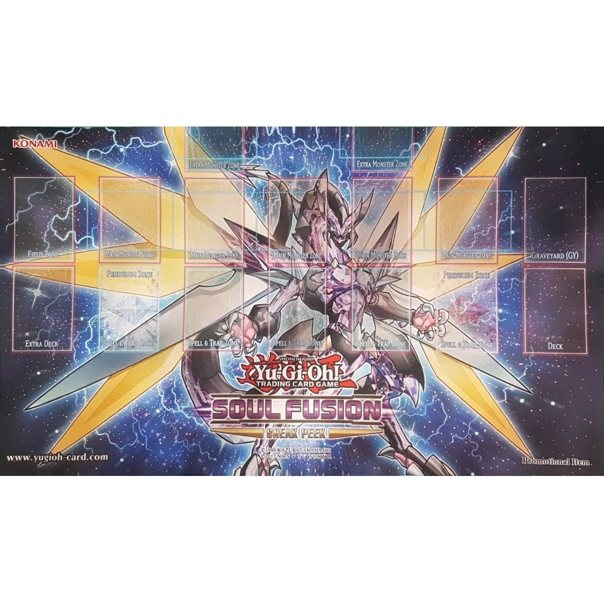 Playmat Yu-Gi-Oh! - Cyberse Cloak Dragon