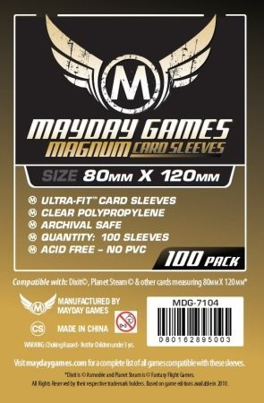 Protector Mayday Games Magnum x 100 (80 x 120mm.)