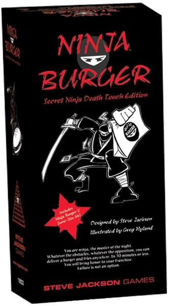 Ninja Burger Secret Ninja Death Touch Edition