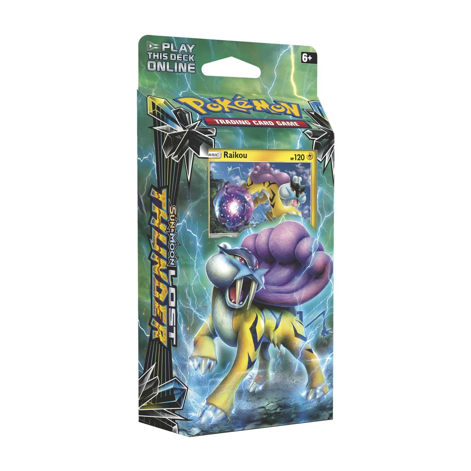 Sun & Moon Lost Thunder - Theme Decks