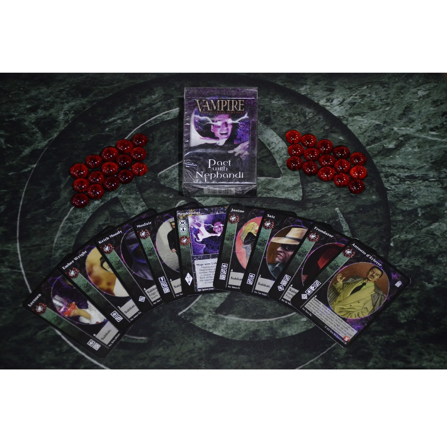 Sabbat Pact with Nephandi - Tremere Preconstructed Deck