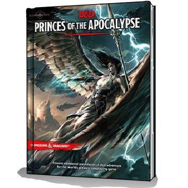 D&D 5th Ed. Princes of the Apocalypse - Elemental Evil
